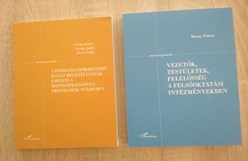 Két újabb kötettel gyarapodott a Neveléstudományi Intézet Metszéspontok könyvsorozat