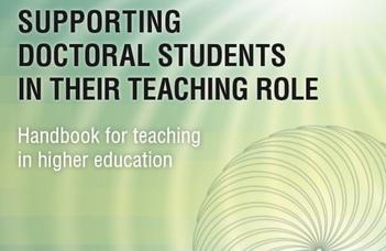 Tanulmánykötet a doktori hallgatók tanári szerepének támogatásáról