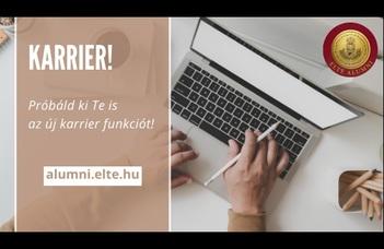 KARRIER - Elindult az Alumni Net új modulja